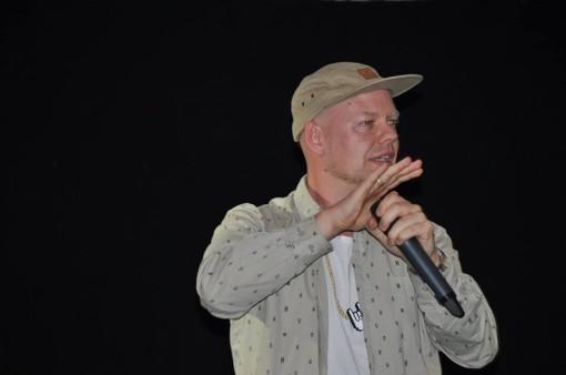 Per Vers rapper til Sprogdagen '15