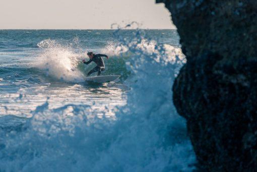 Sportsmetaforer surfing - ride med på bølgen