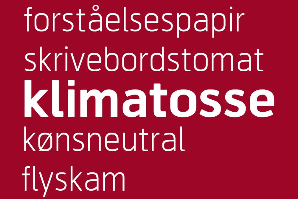"""Årets ord 2019: """"Klimatosse"""""""